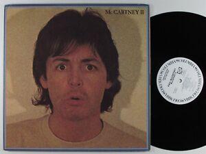 PAUL MCCARTNEY McCartney II COLUMBIA LP VG+/VG++ wlp gatefold #