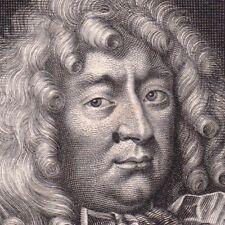 Portrait XVIIe François De Créquy Marquis de Marines  Bataille de Kokersberg