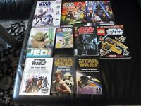 Colección Star Wars, Libros, Cuadernos, DVD