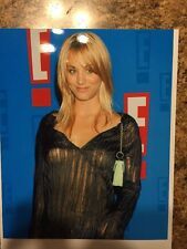 "Kaley Cuoco 8.5"" X 11"" Color See-Through Photo"