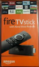 Amazon - Fire TV Stick with Alexa Voice Remote - Black