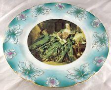Madame de Pompadour French Court Lady Handpainted Nippon Porcelain Charger Plate