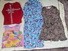 Lot 5 Youth Girls Clothes Shirts Pjs Size 7/8 Oshkosh Children's Place Joe Boxer