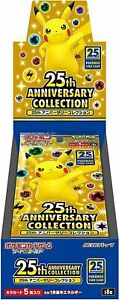PSL Pokemon Card Game 25th Anniversary Collection Booster Box Sealed TCG 2021