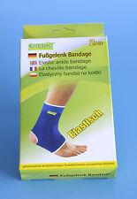 2 x Fußgelenkbandage Fußgelenkstütze Fuß Bandagen Gelenk Stütze Schoner b31v