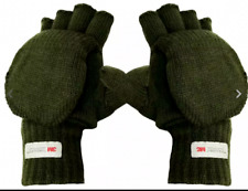 Men's Proclimate 3M Thinsulate Olive Green Gloves Mittens fits adults thermal