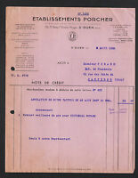 """SAINT-OUEN (93) USINE CERAMIQUE de REVIN (08) EMAILLERIE """"Ets. PORCHER"""" en 1938"""