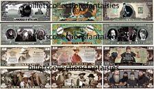 LOT de 6 Billets différents. FILMS - SERIES TV  # 5 . Commémoration / Collection