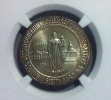 1936-D Columbia Commemorative Silver Half Dollar~NGC MS 67