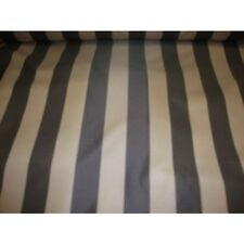 600 Denier Khaki/ Brown Striped Waterproof Outdoor Fabric  (Sold By The Yard)