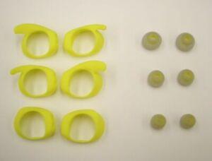 Jabra Elite Sport Eargel Kit with 6 earbuds & 6 earwings Yellow 100-62770003-00