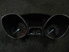 Ford focus instrument cluster speedo panel clocks satnav 11-14 47k
