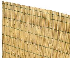 VERDELOOK Arella Cina in cannette bamboo pelato 1.5x5m recinzioni e decorazioni