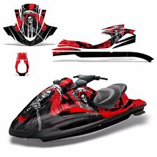 Decal Graphic Kit Yamaha Ski Wrap Jetski Waverunner Wave Runner 02-05 REAP RED