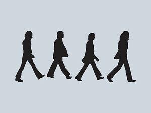 The Beatles Abbey Road Vinyl Car Sticker Decal