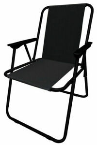 Portable Folding Outdoor Chair Camping Garden Fishing Seat Festival Patio Beach