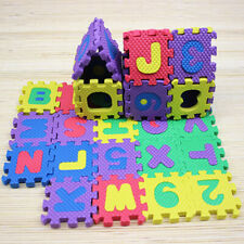 New 36Pcs Child Baby Number Alphabet Puzzle Foam Maths Educational Toy Gift USA