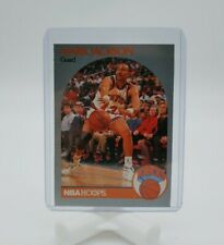 Mark Jackson & The Mendez Brothers 1990 NBA HOOPS Basketball Card Great Cond!