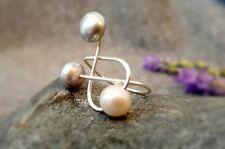 HANDMADE! Genuine Pearl Ring 50018