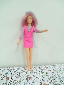 Beautiful Jem and the Holograms All Vinyl, Jointed Doll by Hasbro, 1985