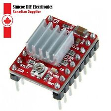 A4988 Stepper Motors Driver Module with Heat sink for Arduino RPi & PIC MC #833