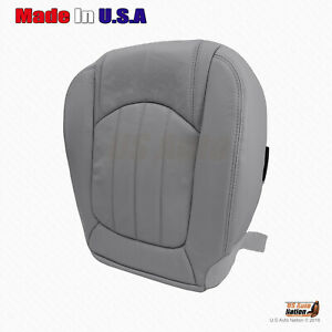 2008 - 2012 Buick Enclave Passenger Side Bottom Vinyl Perforated Seat Cover Gray