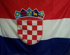 BELLISSIMA BANDIERA CROAZIA CROATA ECONOMICA CROATIA FLAG MISURE CM 95 x 135