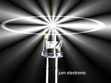 20 Stück Leuchtdioden  /  Led /  3mm /  WEIß 15000mcd / hoher Fertigungsstandard