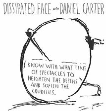 "Dissipated Face with Daniel Carter CBGB 1986 7"" Raymond Pettibon artwork"