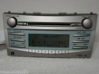 07 08 09 TOYOTA CAMRY RADIO Stereo MP3 AUXILIARY 6 CD Player Disc CHANGER JBL