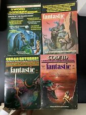 Fantasic Science Fiction and Fantasy Stories Lot