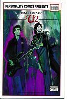 U2 / Bono Comic From Personality Comics Presents Music Comics 2 1st Print VHTF