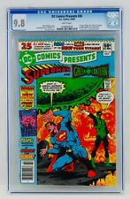 DC Comics Presents #26 CGC 9.8 White Pages Newsstand First Teen Titans App NM/MT