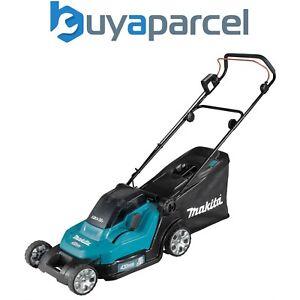 Makita DLM432Z Twin 18v / 36v LXT Cordless 43cm Lawn Mower Soft Start - Bare