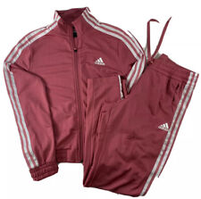 Adidas Womens Tracksuit Pink Size Small DEFECT