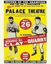 Vintage  POSTER  Rare  Mohammed Ali  Atlanta Georgia 1970  famous comeback fight