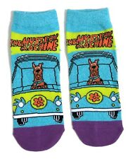 LADIES SCOOBY-DOO MYSTERY MACHINE SHOE LINER SOCKS UK 4-8 EUR 37-42 USA 6-10