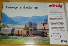 Märklin 29163 H0~ Startpackung BR 89 DB, 2 Güterwagen, Ep. III            #41802