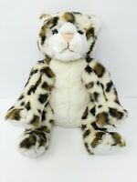 "Build a Bear 16"" WWF World Wildlife Fund 2007 Cheetah Snow Leopard Spotted"