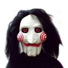 Puppet Mask Scary Prop Unisex Party Cosplay Supplies Movie Saw Chainsaw Creepy