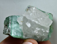 423 Carat Well Terminated Chitral Emerald Huge Crystals On Quartz From Pakistan