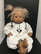 ANNETTE HIMSTEDT PUPPE BABY LIESCHEN  ((( TOP ZUSTAND )))