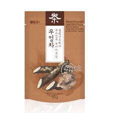 [US] DAMTUH Natural Burdock Puff-Dried Root Tea, Burdock Root Cut  Dried, 1.8oz