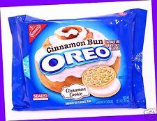 1 Nabisco Oreo CINNAMON BUN Flavor Creme Cookies Cookie 12.2 oz LIMITED EDITION