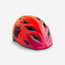 MET Genio Childrens Cycle Helmet One Size 52/57cm - Shaded Purple Cat