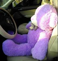 "Giant 39"" Big Teddy Bear Huge Plush Soft Toys Doll Stuffed Animals Purple Gift"