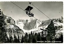 Grindelwald-Firstbahn-Aerial Ride-Switzerland-RPPC-Vintage Real Photo Postcard