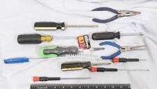 Lot Of 10 Tools Screwdrivers Etc Tthc