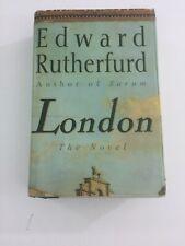 London - Edward Rutherfurd (1997, Hardcover, Dust Jacket)