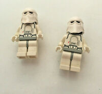 2 x LEGO Star Wars Snow Trooper Minifigures Minifigs From Set 75054 AT-AT